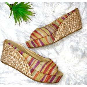 🌸3/$16🌸 chinese laundry woven wedge